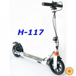 Самокат Urban Sport H-117 scooter колеса 200 мм